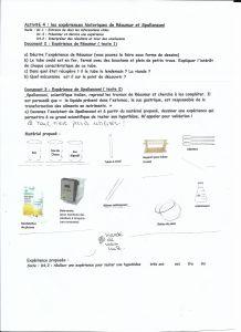 activité 4 réaumr et spallanzani